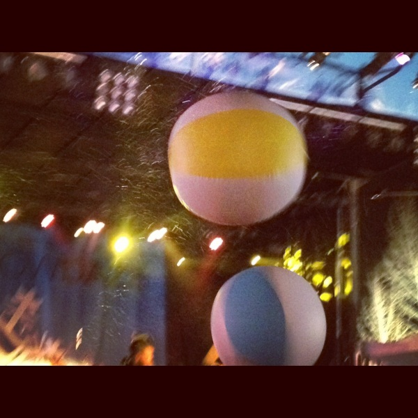 Beach Balls at Snow Daze