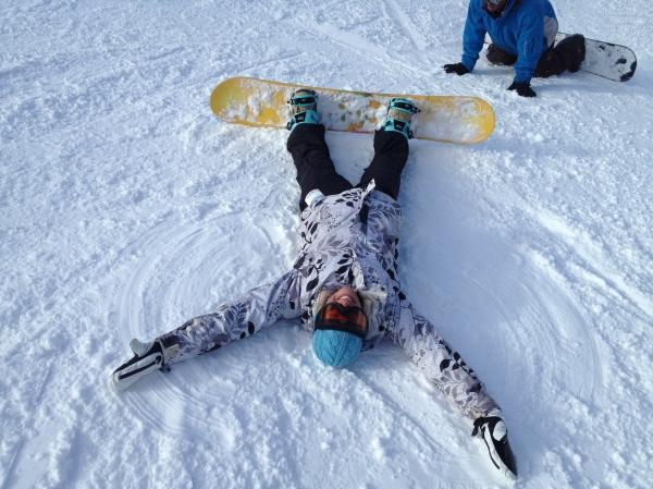 Snowboard Angel