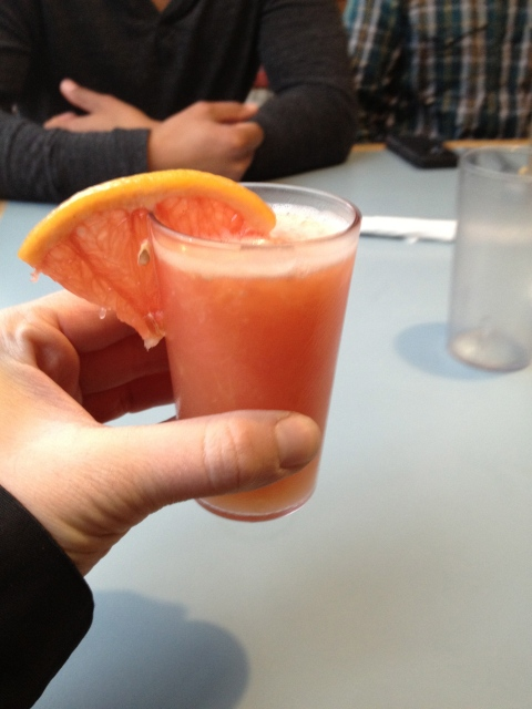 Baby Grapefruit Juice