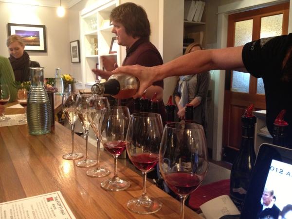 Argyle Wine Tasting
