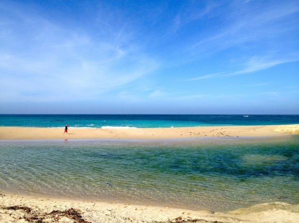Carmel Beach Tidal Waters