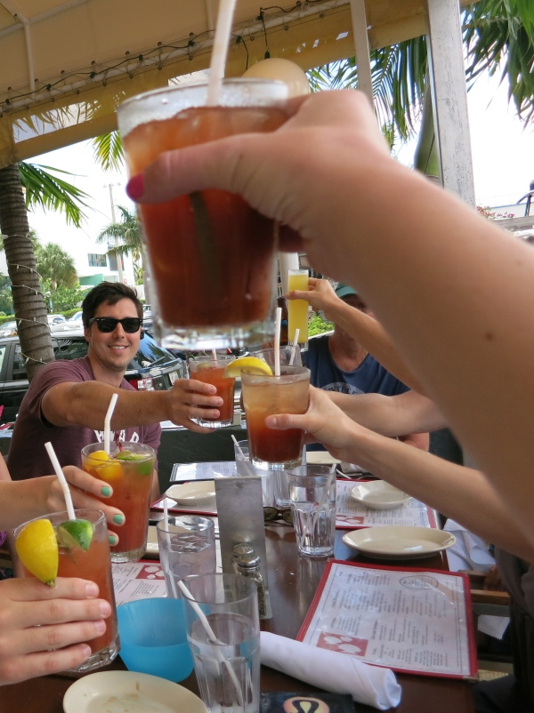 Cheers at Coconuts