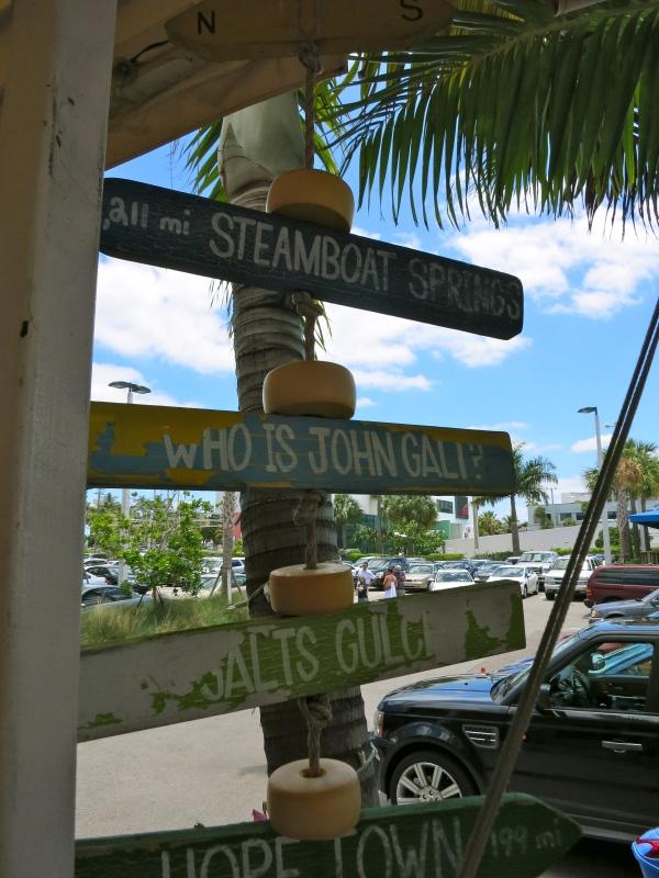 Coconuts sign