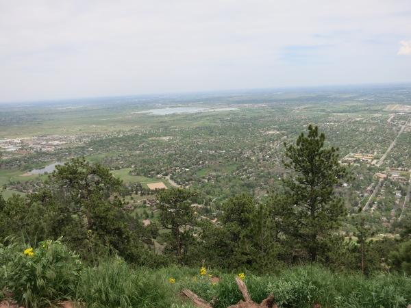 Mt. Sanitas Summit View
