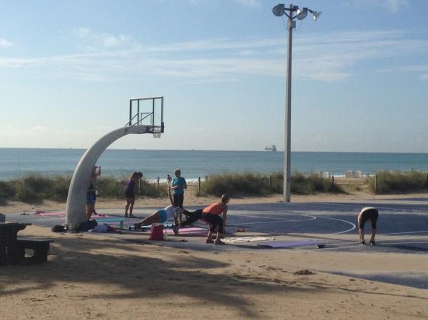 Beachside Boot Camp