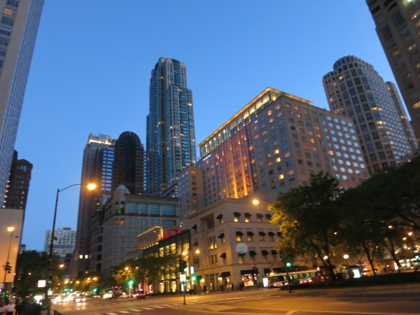 Michigan Ave at Night