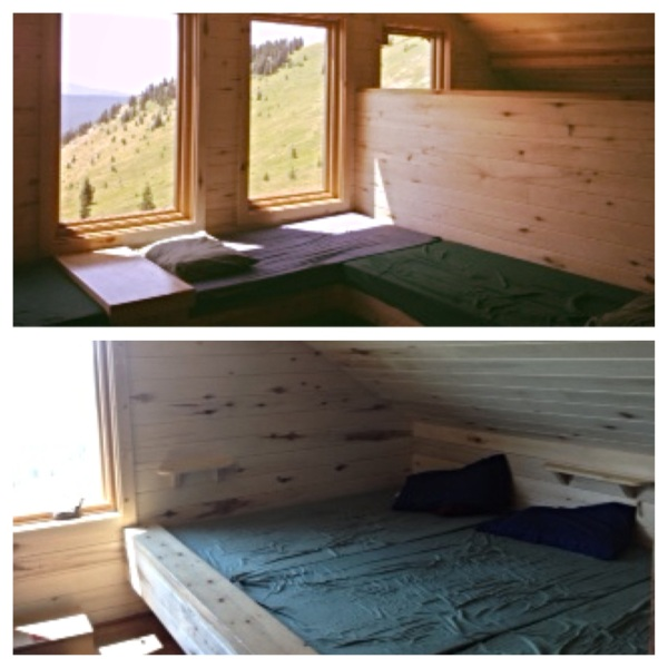 The sleeping area in our hut was made up of one large room and two smaller ones with enough beds for 16 people.