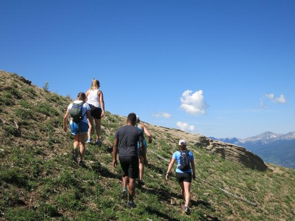 Hut Hike