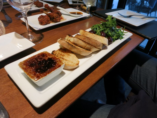 Duck Liver Mousse at the Golden Eagle
