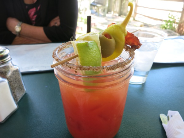 Wolcott Yacht Club Bloody Mary