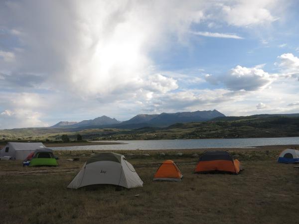 Green Mountain Reservoir Camping