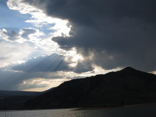Sunset at Green Mountain Reservoir