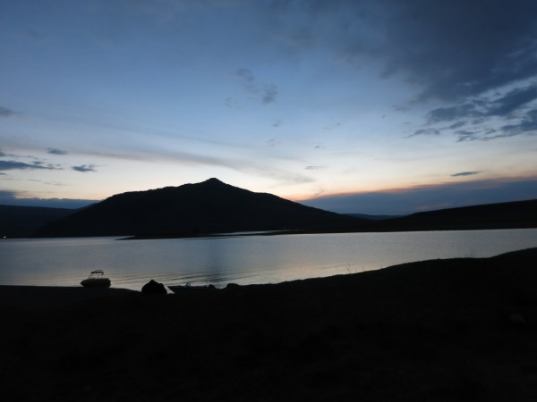Sunset at Green Mountain Reservoir