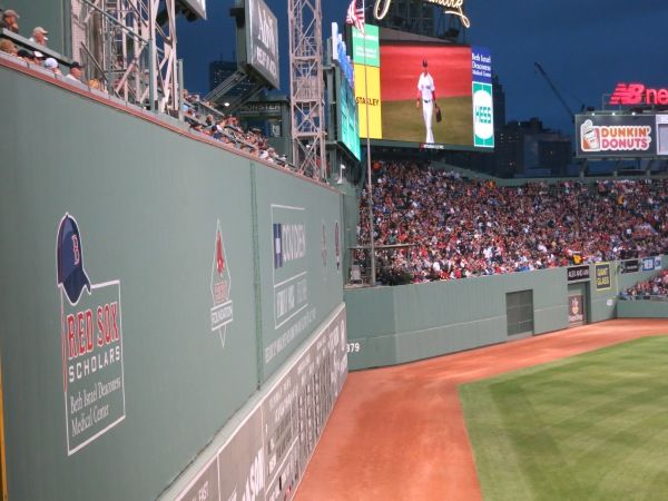 Green Monster Fenway Park