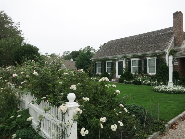 One of many many gorgeous Cape Cod homes in Chatham.