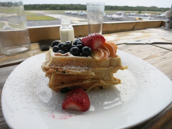 Hangar B Peach Waffles
