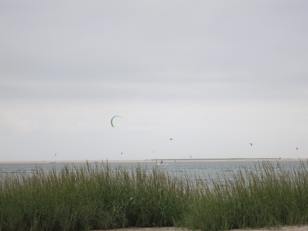 Kiteboarders at Monomoy