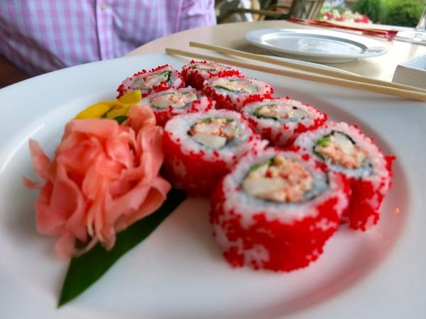 Sushi at Chatham Bars Inn
