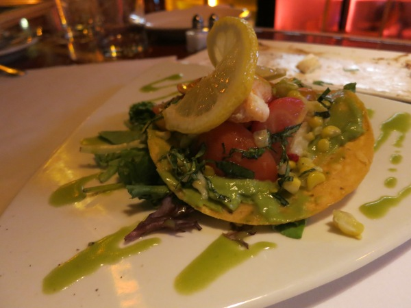 Del Mar Lobster Tostada