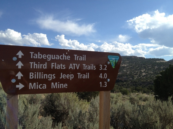 Mica Mine Trailhead Grand Junction