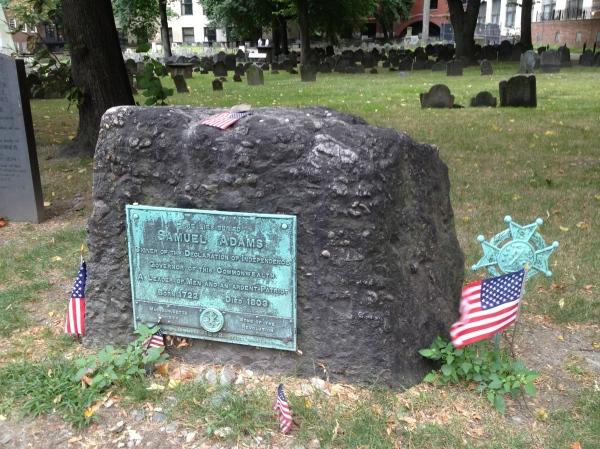 Sam Adams Grave