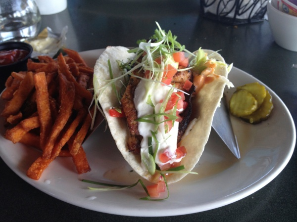 The Lobster Pot Fish Tacos