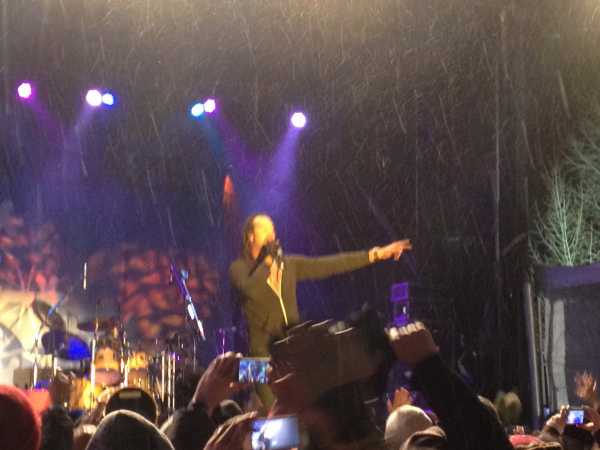 Michael Franti performed an amazing show at last year's Snow Daze, Vail's annual winter music festival.