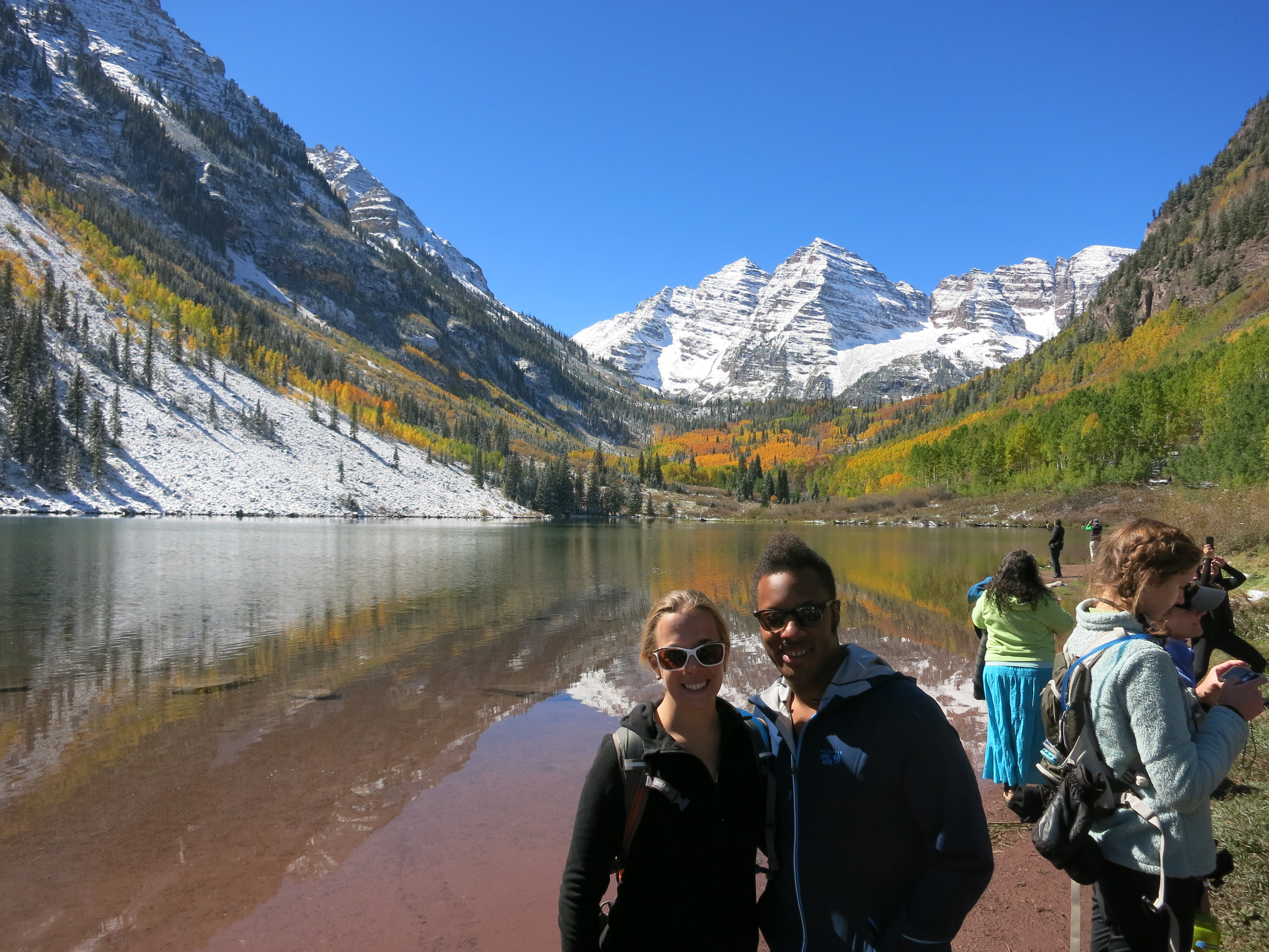 The Most Beautiful Day Maroon Bells Hike Peaks And Passports