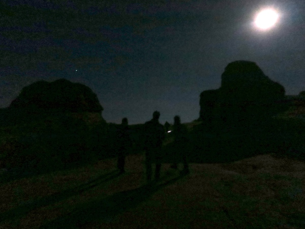 Full Moon Hike Arches