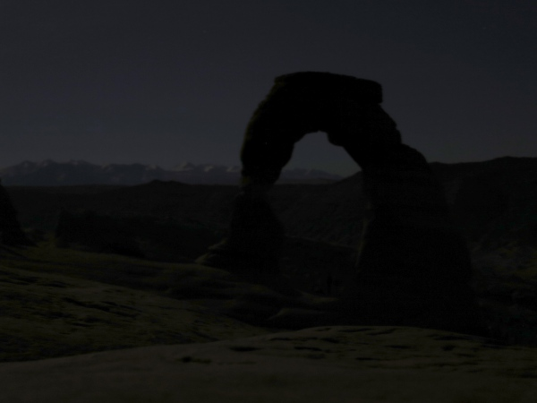 Delicate Arch moonlight