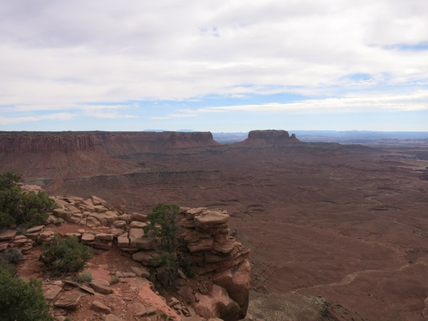 Murphy's Point trail Canyonlands National Park