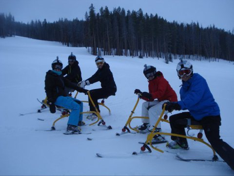 Did I forget to mention Ski Biking on Vail Mountain?  Cheesy? Yes. Amazingly fun? Also yes.