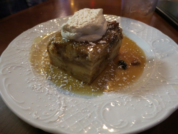 Lola's bread pudding