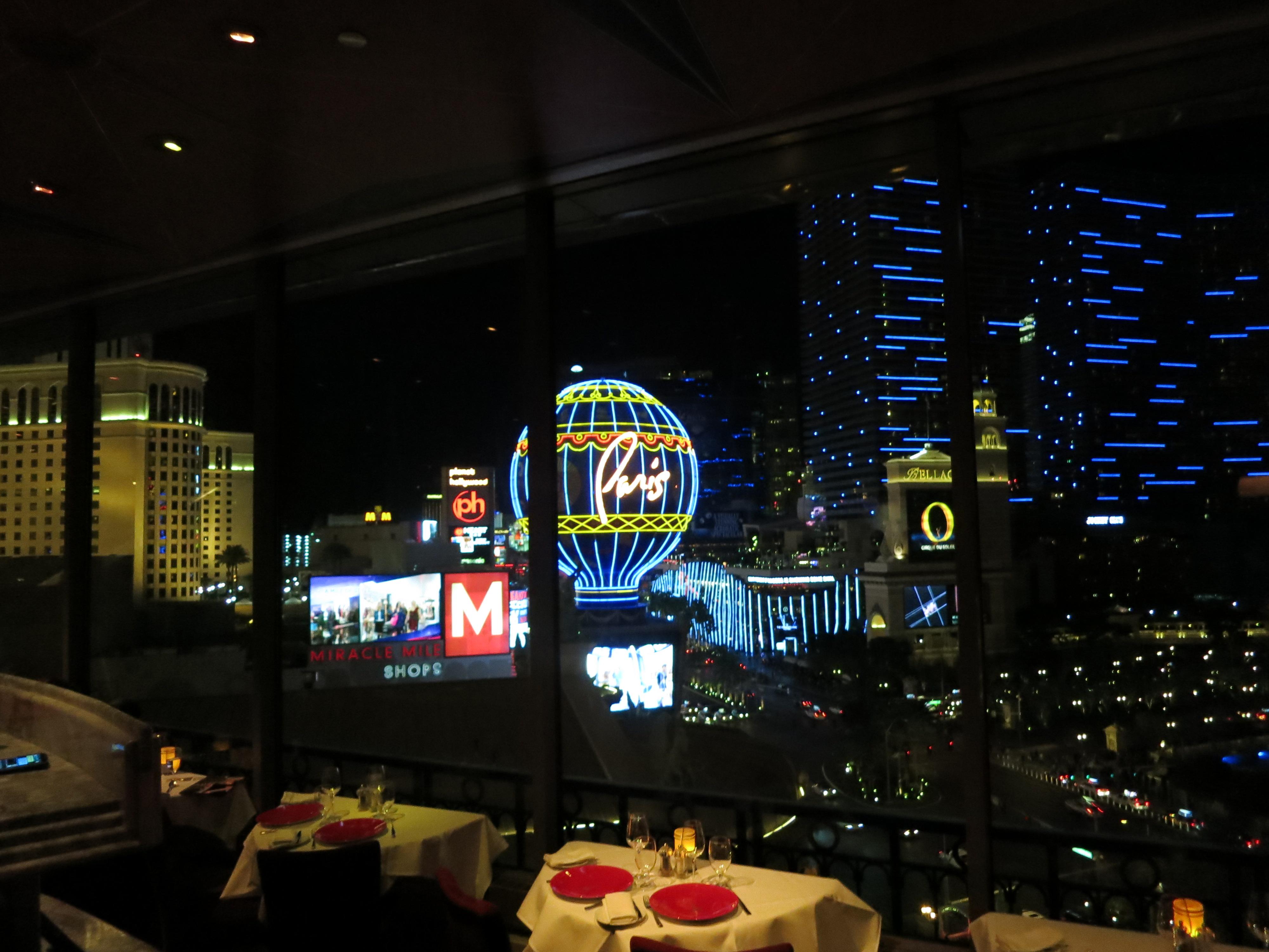 Restaurant At The Paris Hotel Eiffel Tower Paris Las Vegas Dining