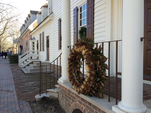 Colonial Williamsburg Chrismas