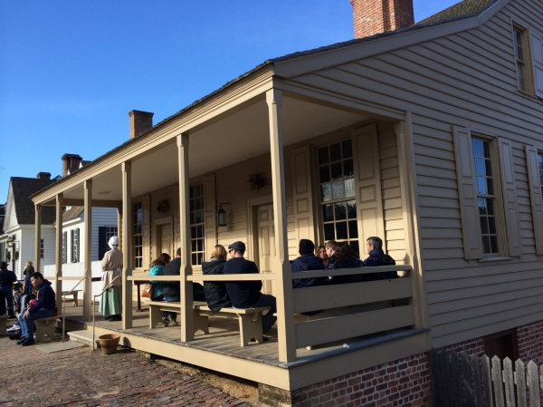 Colonial Williamsburg tavern