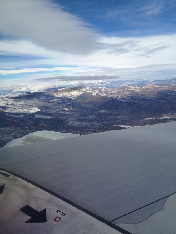 Flying over Eagle