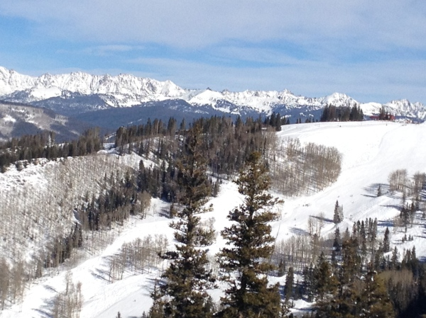 Gore Range from Beaver Creek
