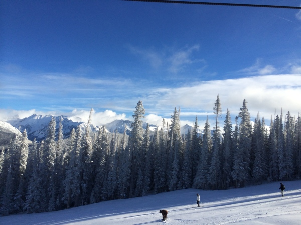 Vail Powder day views
