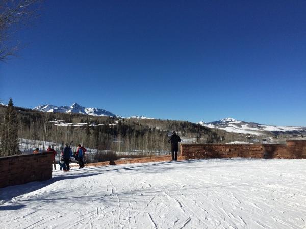 Ski in ski out Telluride