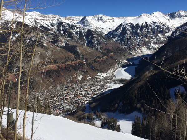 Telluride from above