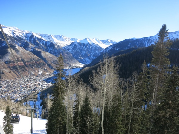 Telluride gondola views