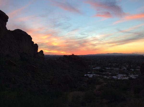 Camelback at Sunset