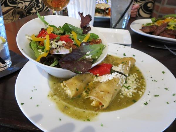 The Herb Box Enchiladas
