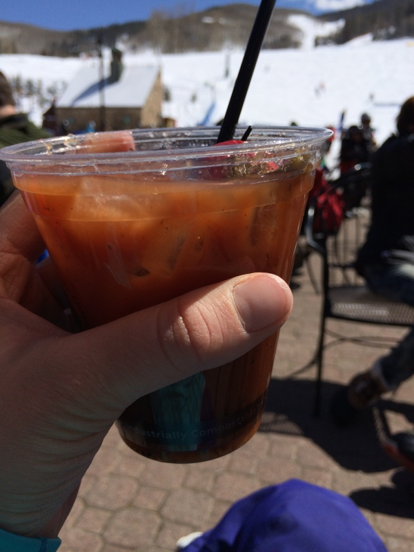 Ski Season Bloody Mary