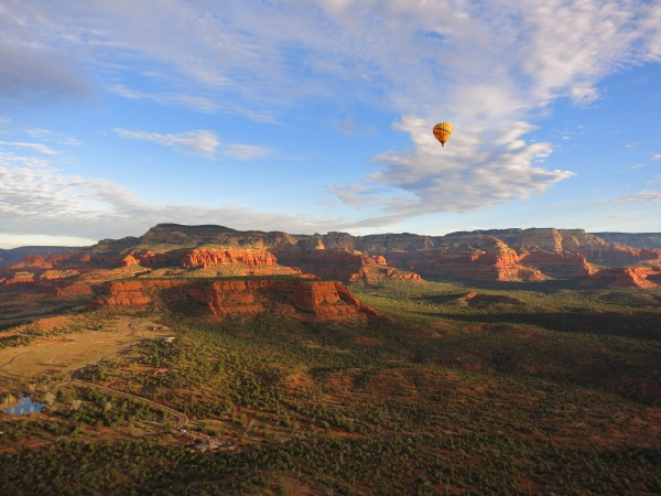 Sedona hot air balloon ride
