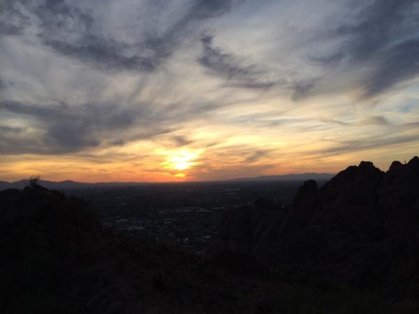 Echo Canyon Sunset