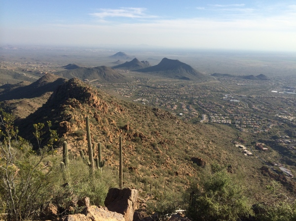 Phoenix from Sunrise Trail