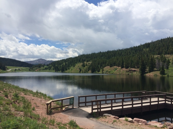 Vail Pass bike ride