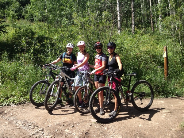 Beaver Creek Mountain Bike Ride